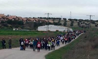 Unas 700 personas participan en la III Marcha por la Igualdad de Seseña