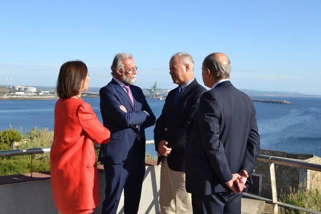 Jaime Ramos se reunión con el presidente de la Administración del Puerto de Sines y El Algarve, José Luis Cacho