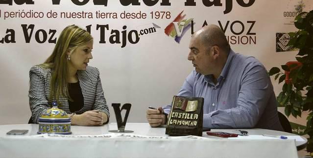 ENTREVISTA. Elena de la Cruz: 'El presidente, García-Page, le comunicó al ministro de Fomento que Talavera es una prioridad'