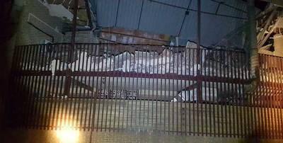 Las fotos del derrumbe de la iglesia talaverana de San Juan de Avila