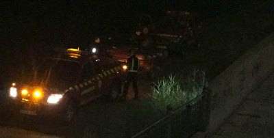 Los Bomberos de Talavera rescatan al hombre que se 'lanzó' al Tajo