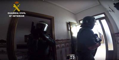 7 guardias civiles heridos tras un tiroteo en Argamasilla de Calatrava (VÍDEO)