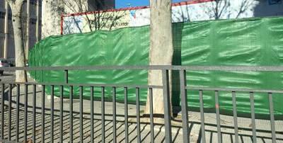 Comienzan las obras de la gasolinera junto al colegio 'Pablo Iglesias'
