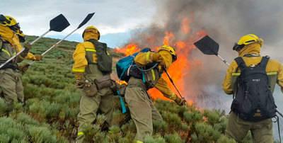 Controlado el incendio de Serranillos provocado por un rayo