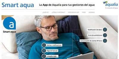 'Smart Aqua', la nueva aplicación para móviles para que los vecinos de Talavera interactúen con Aqualia