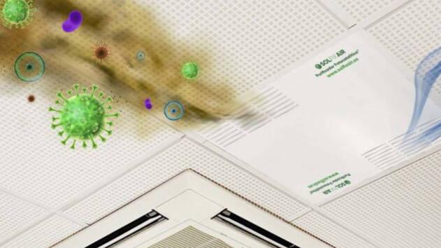 COVID-19   Una empresa de Guadalajara crea un purificador de aire capaz de inactivar virus, bacterias y hongos