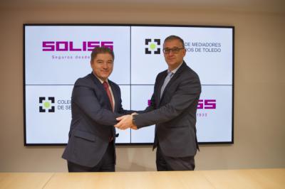 Soliss firma un acuerdo con el Colegio de Mediadores de Seguros de Toledo
