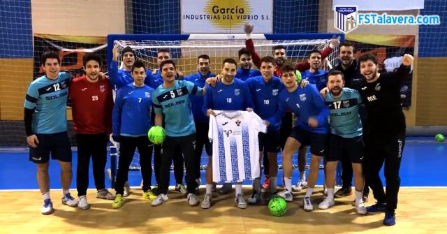 FÚTBOL | El Soliss FS apoya al CF Talavera ante su partido decisivo