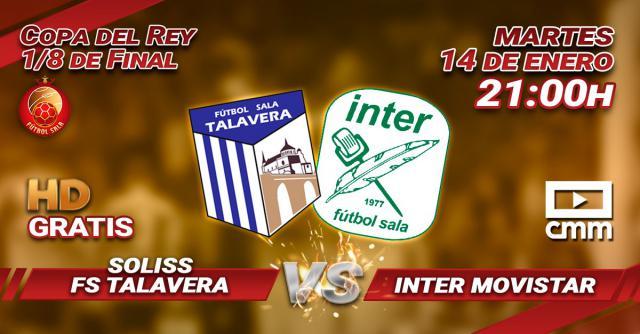 CMMPlay emite en directo el histórico Soliss FS Talavera-Inter Movistar (enlace)