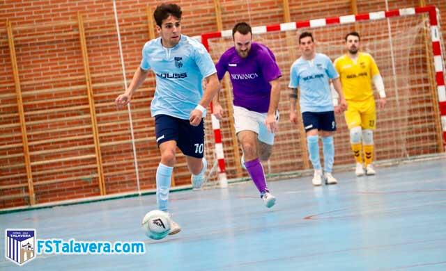El Soliss Fútbol Sala Talavera cocinó su victoria a fuego lento