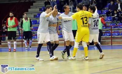El Soliss FS Talavera saca los tres puntos ante el Leganés FS desde la defensa