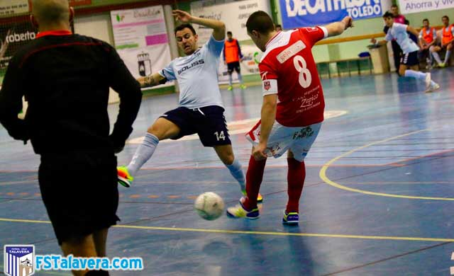 Un impreciso Soliss FS Talavera pierde en su duelo en Bargas