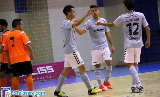 El Soliss FS Talavera se sobrepone a una mala primera parte