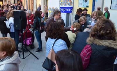 Así fue la concentración de la plataforma ciudadana SOS Talavera