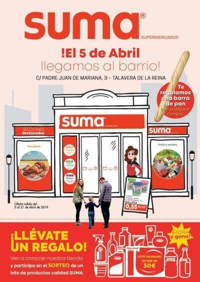 Increíbles ofertas en la apertura del supermercado SUMA en la calle Padre Juan de Mariana