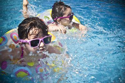 VERANO   El peligro de las piscinas en los más pequeños