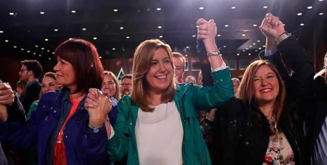 Susana Díaz ya es candidata para liderar el PSOE