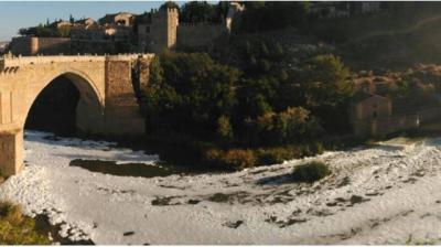 El estado del río Tajo, de nuevo noticia internacional