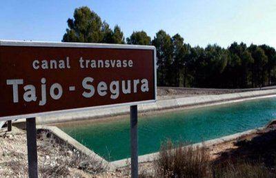 Trasvase Tajo-Segura | MINISTERIO - Archivo