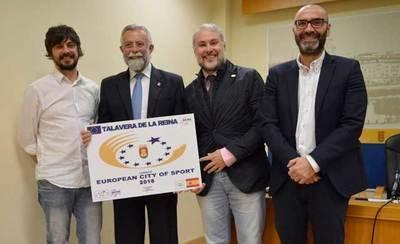 Se acepta la candidatura de 'Talavera Ciudad Europea del Deporte'