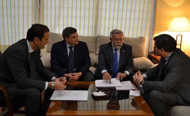 Ramos y FEDETO, reunidos por el Decálogo de Irrenunciables de la ciudad