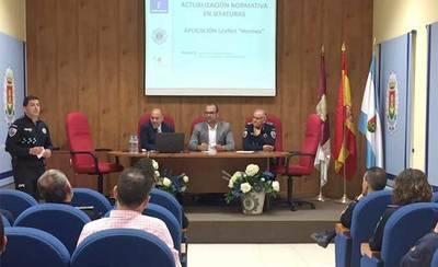 Bermejo participa en la Jornada de Formación para la Policía Local