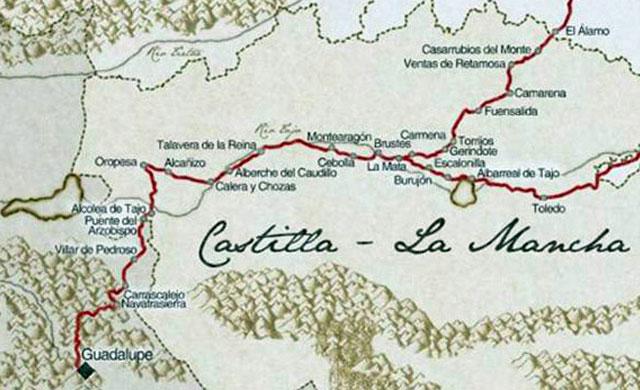 Se invita a los talaveranos a recorrer el antiguo Camino de Guadalupe