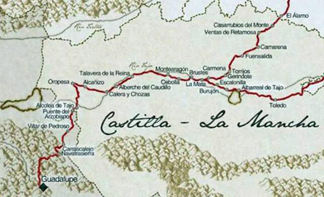 10.000 euros para el impulso y reactivación del Camino Real de Guadalupe