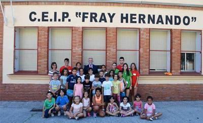 480 escolares disfrutan de los campamentos urbanos de Talavera
