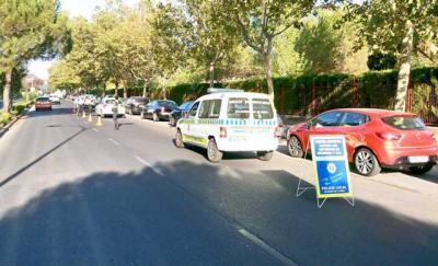 La Policía Local controla 130 vehículos en la campaña sobre el uso de cinturón de seguridad