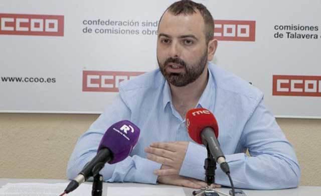 CCOO exige la dimisión del concejal de Empleo de Talavera, Arturo Castillo