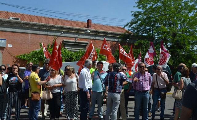 Los trabajadores de ADIF se concentrarán en Talavera por