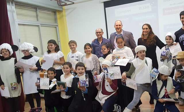 El CEIP 'Pablo Iglesias', campeones del 'Cervantes into English'