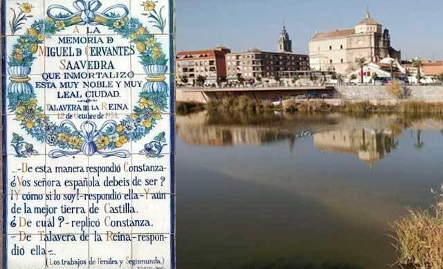 Quieren que Talavera forme parte de la Red de Ciudades Cervantinas