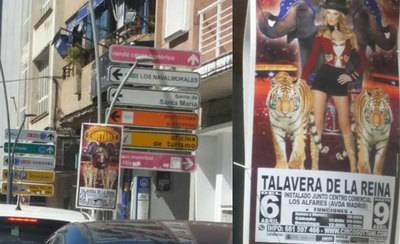 Denegada la licencia al circo con animales anunciado en Talavera