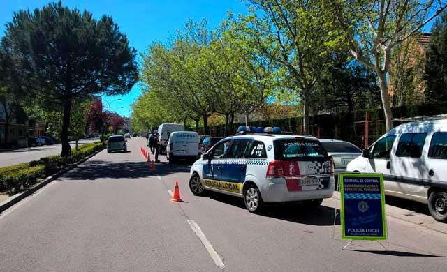 El 97% de los vehículos revisados por la Policía Local de Talavera cumple las condiciones técnicas