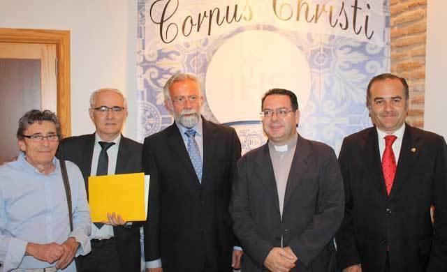 José Julián Gregorio pregona el inicio de la Semana Procorpus