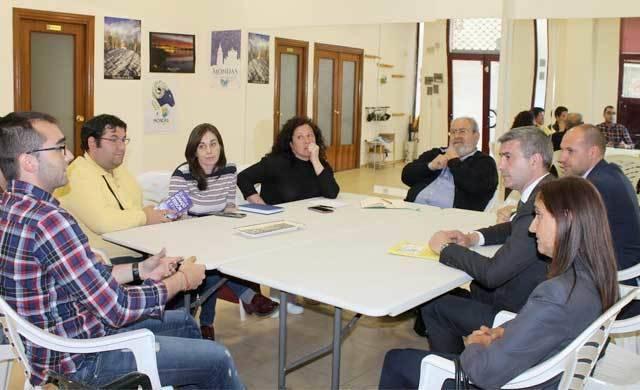 Diputación traslada su compromiso e interés en la recuperación de Talavera