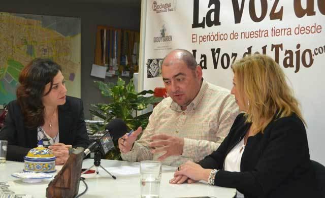 Concentración de ¡Vivimos Talavera! por las necesidades de la ciudad