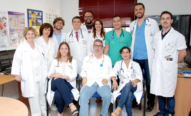 La unidad de ventilación mecánica no invasiva domiciliaria del Hospital, acreditada por SEPAR
