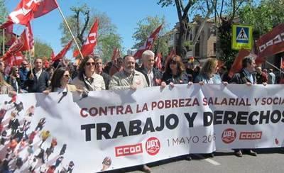 Llaman a participar en la manifestación del 1 de mayo de Talavera