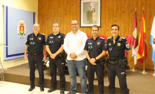 La Policía Local de Talavera acoge a dos Oficiales en período de prácticas