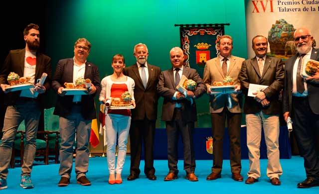 Anoche se entregaron los Premios 'Ciudad de Talavera' 2017