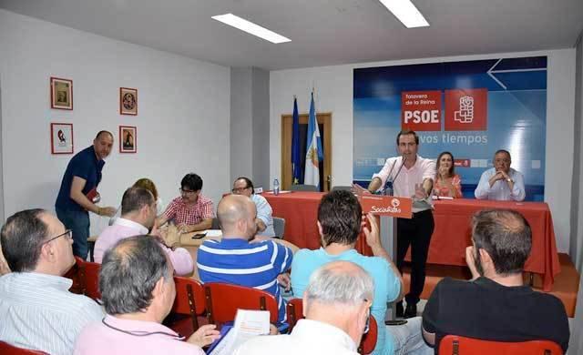 PSOE asistirá al Congreso Provincial con
