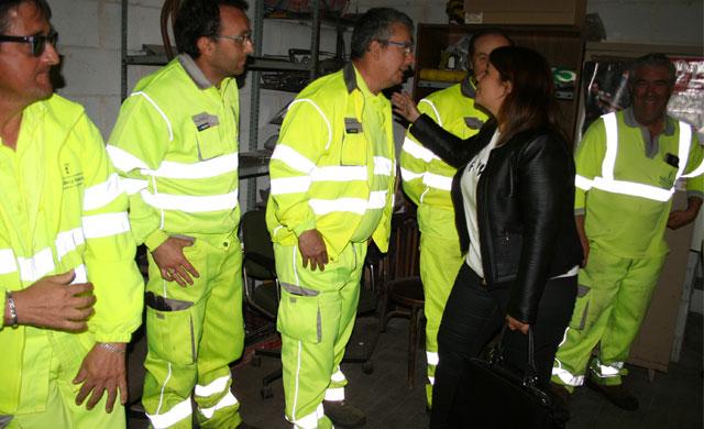 La Brigada de Carretera de Talavera pide nuevos vehículos y maquinaria