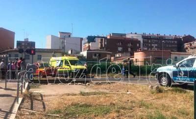 Fallece una mujer al arrojarse a las vías del tren en Talavera