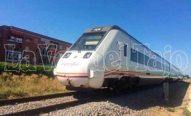 Se reabre la línea ferroviaria Talavera-Madrid tras arrollar un tren a una mujer de 71 años