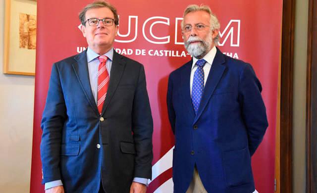Collado destaca el compromiso de la UCLM con Talavera de la Reina