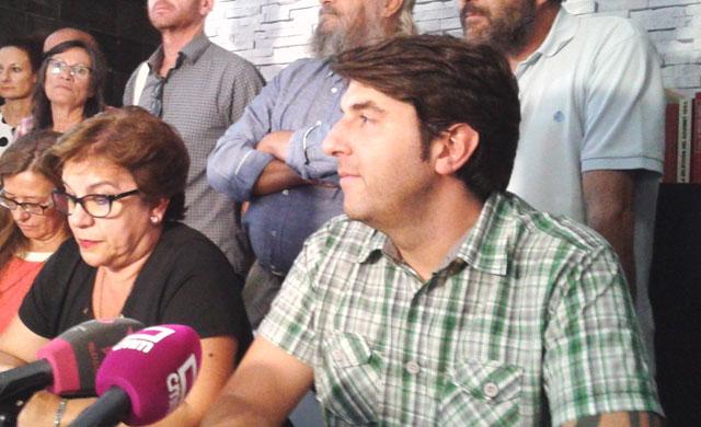 Carmen Aceituno y Juan Pedro Ayuso en una imagen de archivo