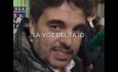 Miguel A. Sánchez agrede a una persona en una 'bronca de bar' (VIDEO)